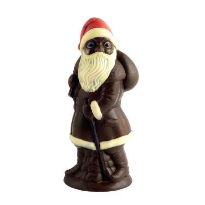 Grand Père Noël Chocolat Noir