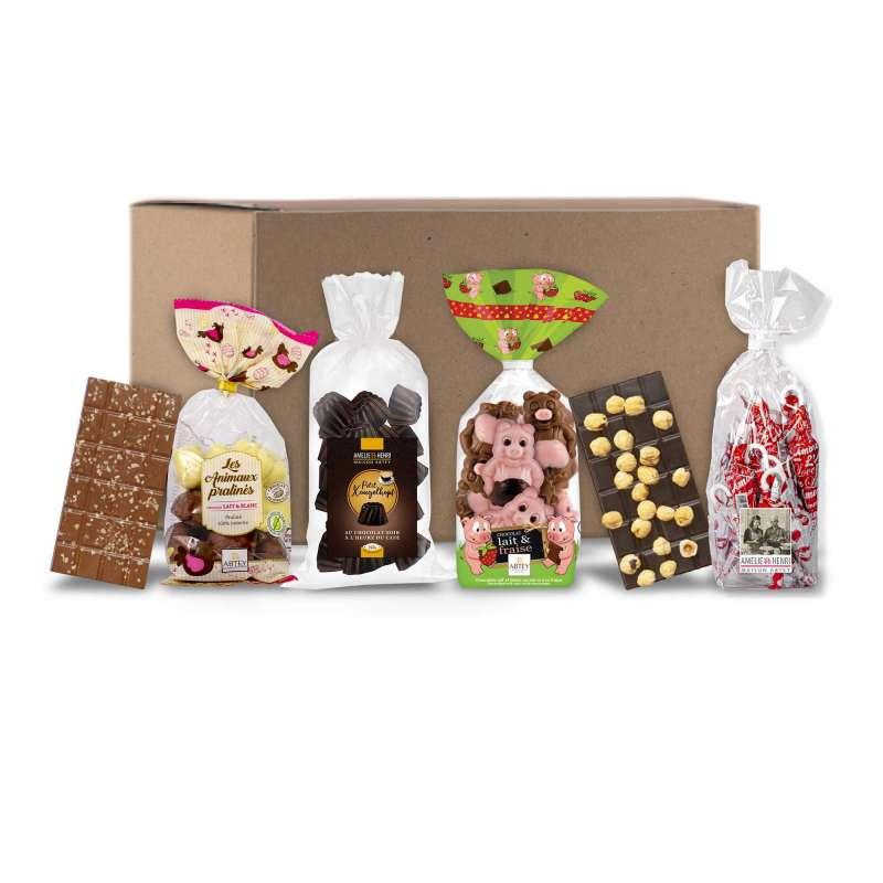 Box Réconfort Télétravail (Assortiments de chocolats) en livraison offerte !