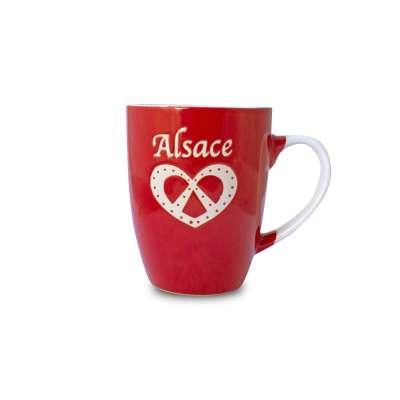 Mug Alsace Bretzel Rouge