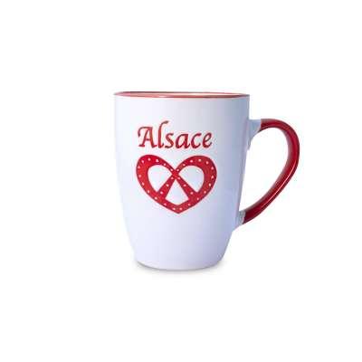 Mug Alsace Bretzel Blanc
