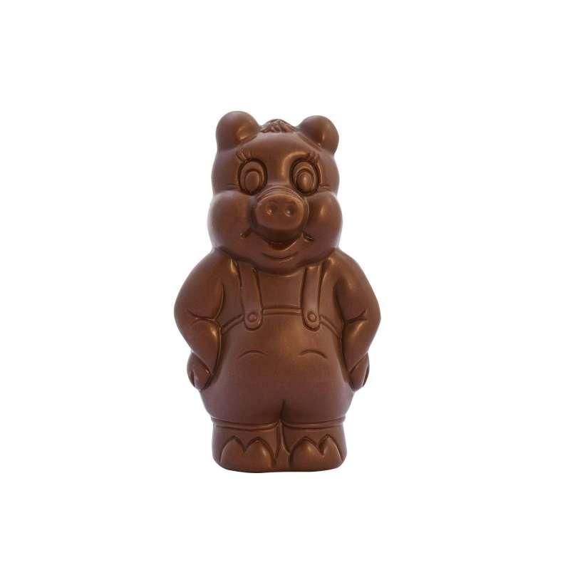 Moulage Gaston le Cochon (au chocolat au lait)