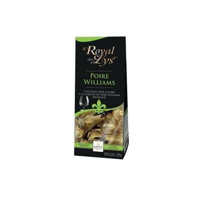 Sachet liqueur d'eaux de vie de Poires Williams Royal des Lys Catalogue Produits