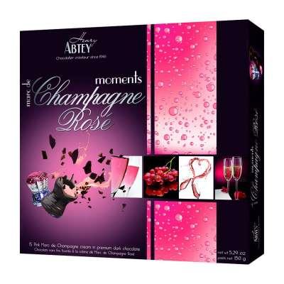 Boîte Moments Marc de Champagne Rosé