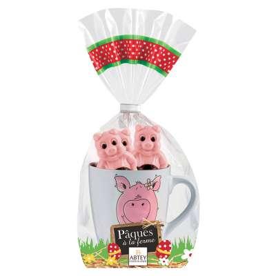 Mug Cochon et ses 5 petits