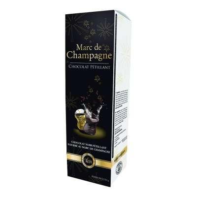 Coffret Chocolat Pétillant Marc de Champagne