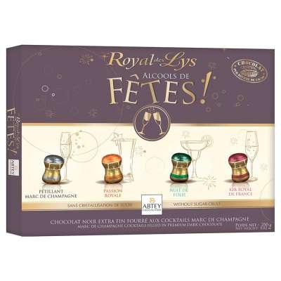 Boite Royal des Lys Alcools de Fêtes