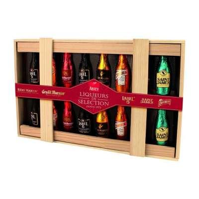 Boîte bois Liqueurs de Sélection