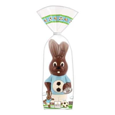 Lapini Bleu le Footballeur (au chocolat au lait décoré)