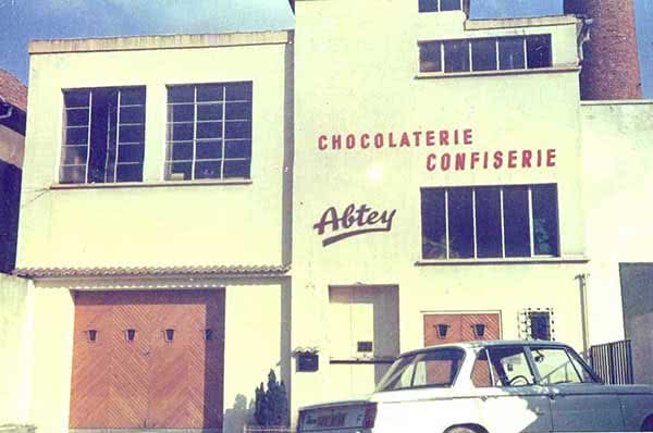 1946 - premier local abtey à mulhouse