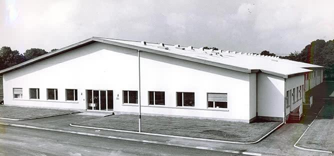1974 - nouvelle usine Abtey à Heimsbrunn