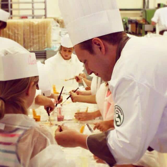 Ateliers assistés par le Maître Chocolatier de la Chocolaterie ABTEY à Heimsbrunn